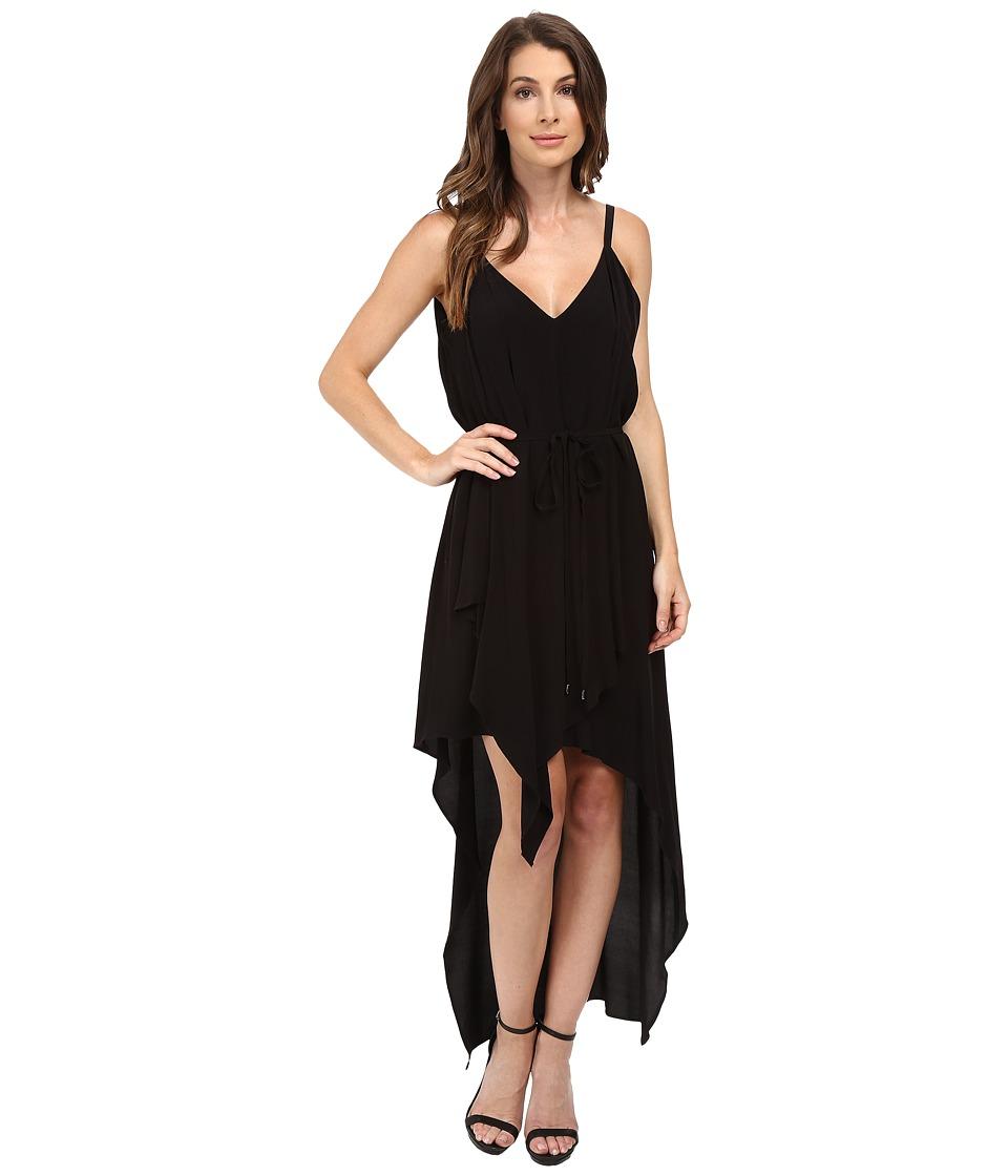 Adelyn Rae Hi-Low Tank Dress (Black) Women