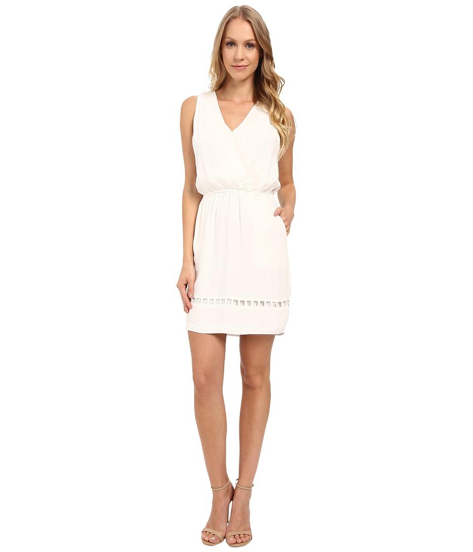 Adelyn Rae - Surplus Sleeveless Dress (White) Women's Dress