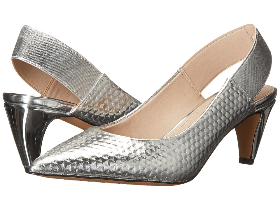 French Connection - Kourtney (Silver) Women's Shoes