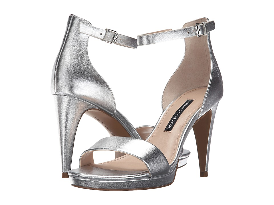 French Connection - Nata (Silver) Women's Shoes