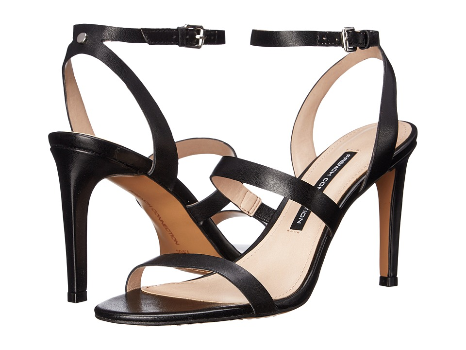 French Connection - Lilly (Black) Women's Dress Sandals