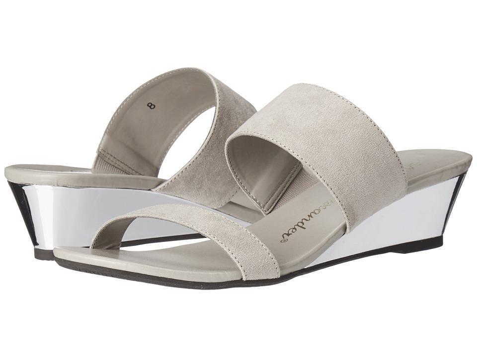 Athena Alexander Sparkler Grey Suede Womens Sandals