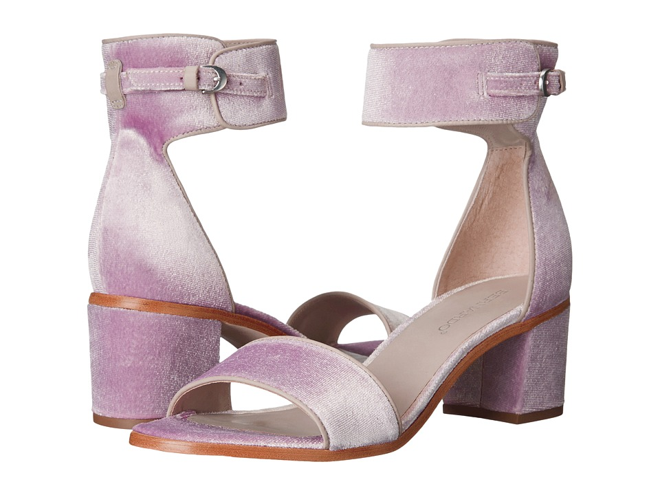 Bernardo - Blythe (Blush Velvet) Women's Sandals