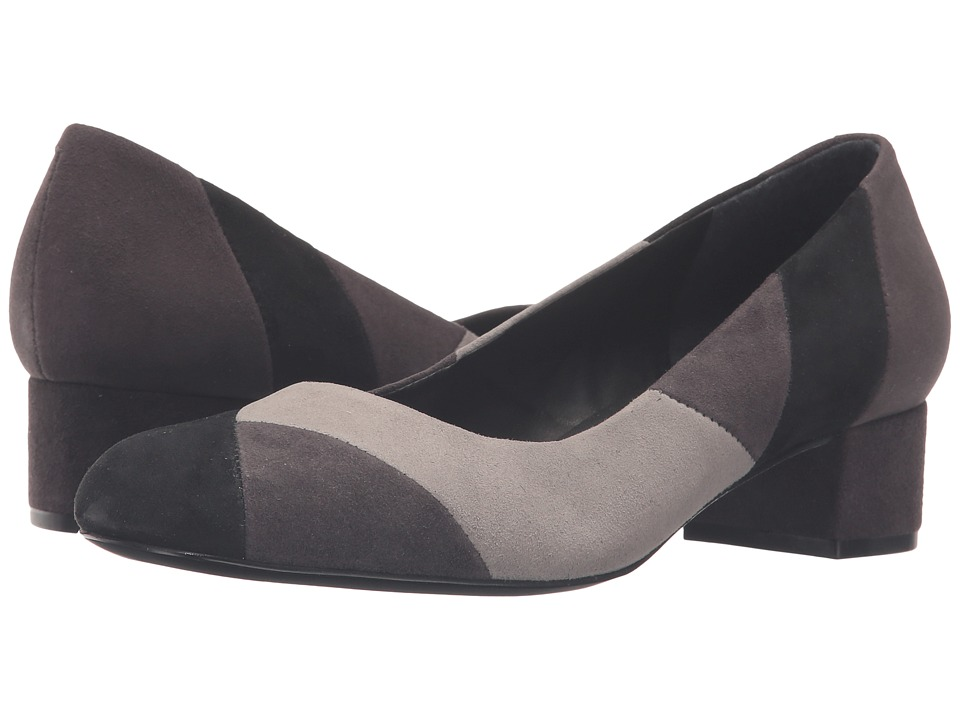 Bernardo - Roxanne (Black/Ash/Charcoal) Women's Shoes