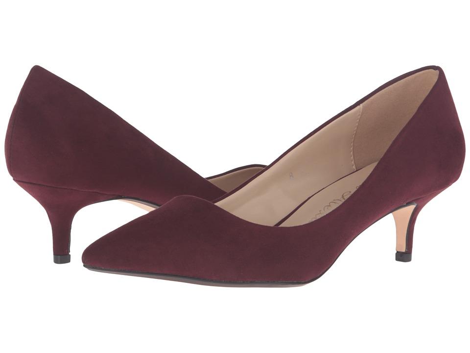 Athena Alexander - Teague (Burgundy Suede) Women's Shoes