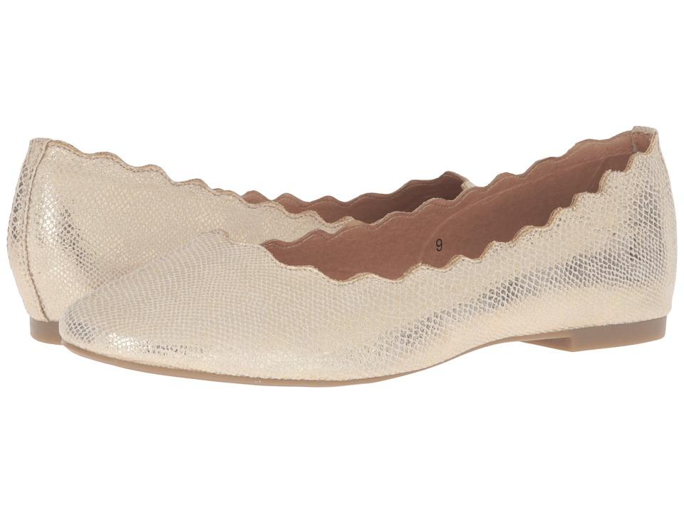 Athena Alexander - Toffy (Gold Snake) Women's Flat Shoes