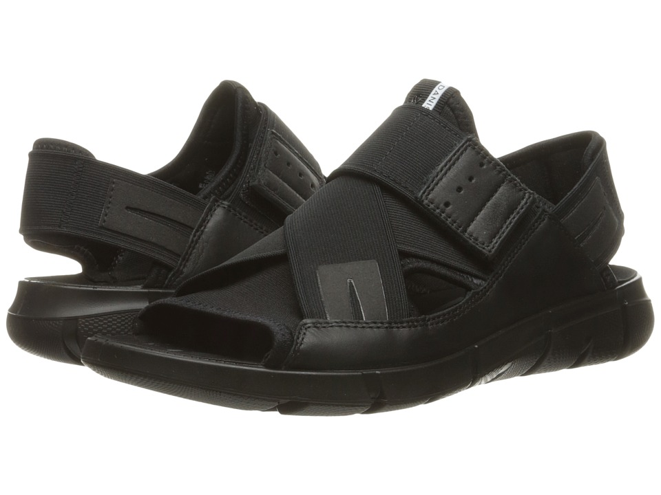 ECCO Sport - Intrinsic Sandal (Black/Black) Men's Sandals