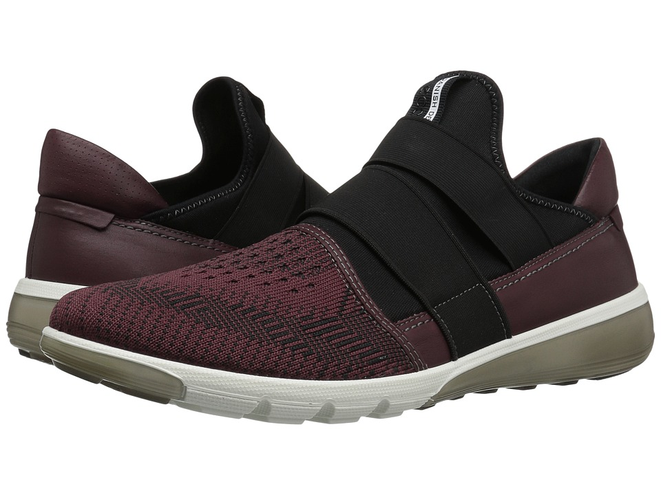 ECCO Sport - Intrinsic 2 Slip-On (Bordeaux/Black/Bordeaux) Men's Slip on Shoes