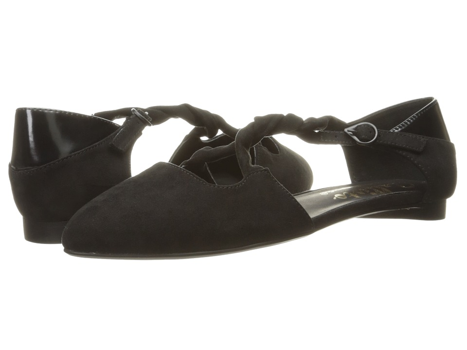 Callisto of California - Sorcha (Black Suede) Women's Flat Shoes