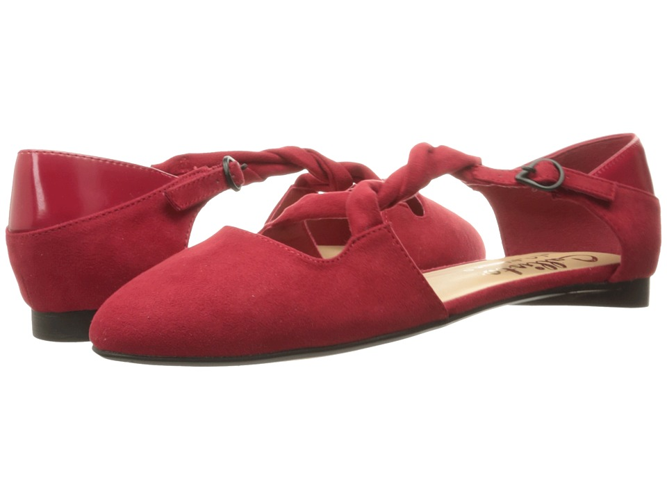 Callisto of California - Sorcha (Red Suede) Women's Flat Shoes