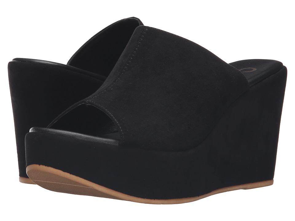 Callisto of California - Marlaa (Black Suede) Women's Shoes