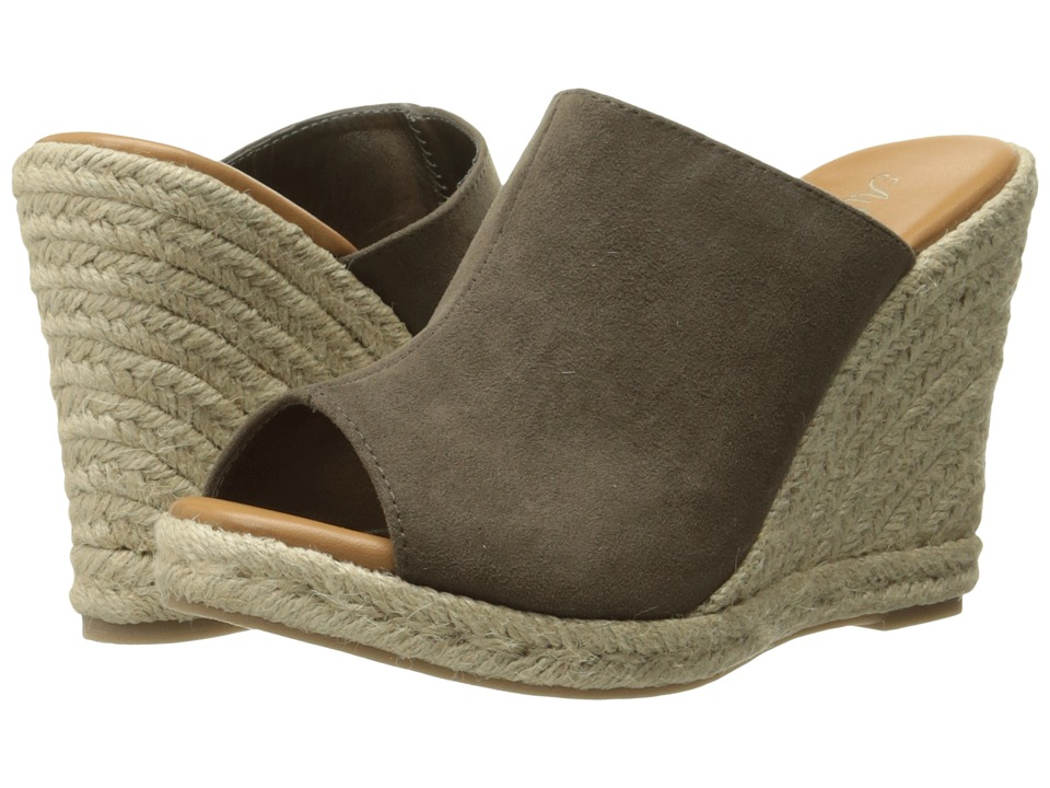 Callisto of California - Marlaa (Taupe Suede) Women's Shoes
