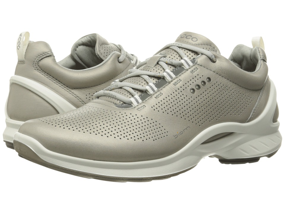 ECCO Sport - Biom Fjuel Train (Silver Grey) Men's Lace up casual Shoes