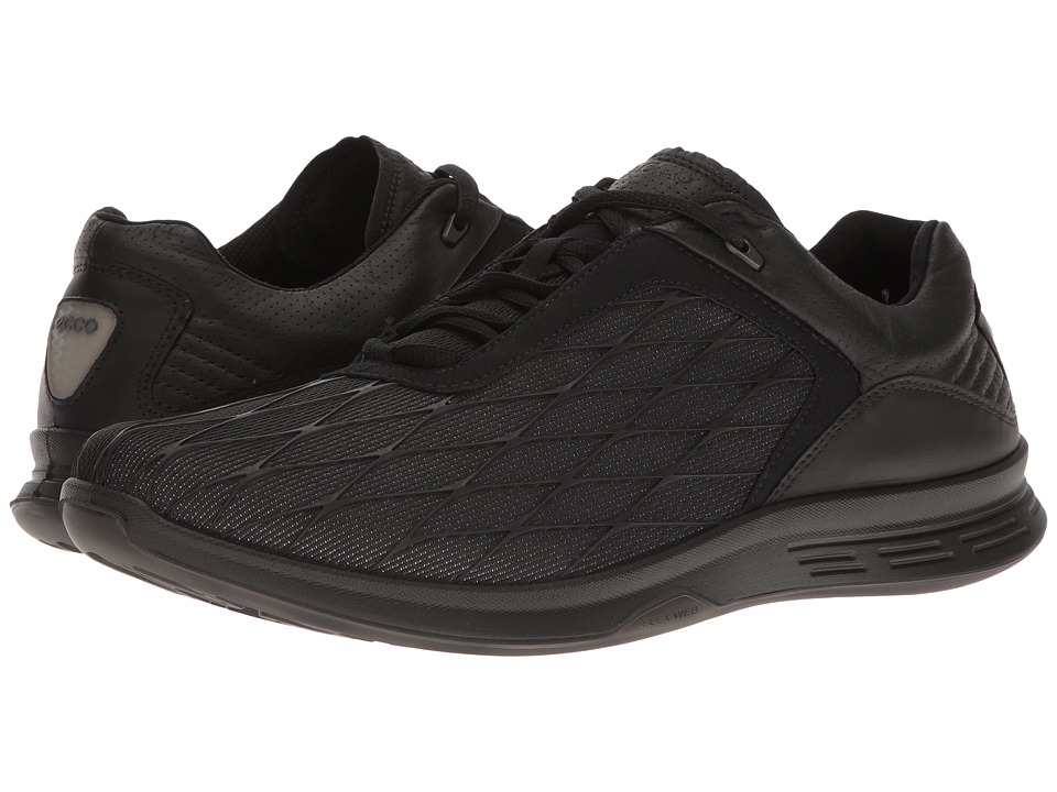 ECCO Sport - Exceed Sport (Black/Black) Men's Running Shoes
