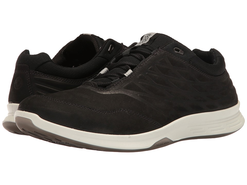 ECCO Sport - Exceed Low (Black) Men's Walking Shoes