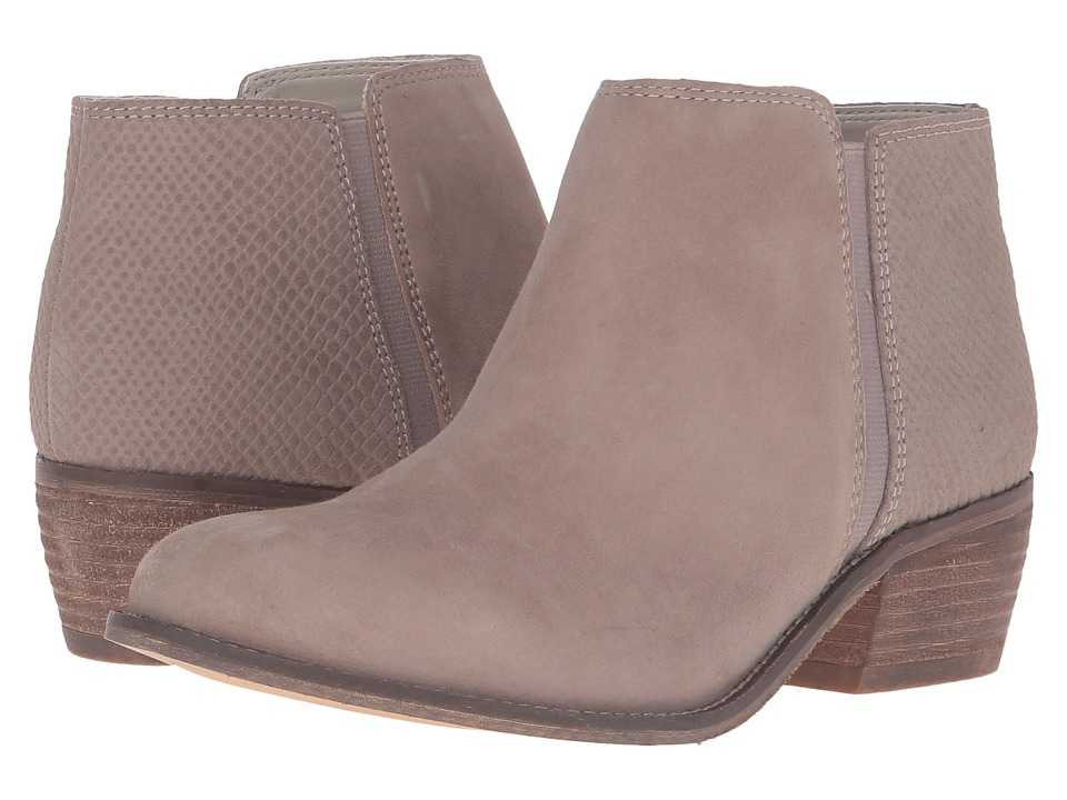 Dune London - Penelope (Taupe Suede/Reptile) Women's Boots