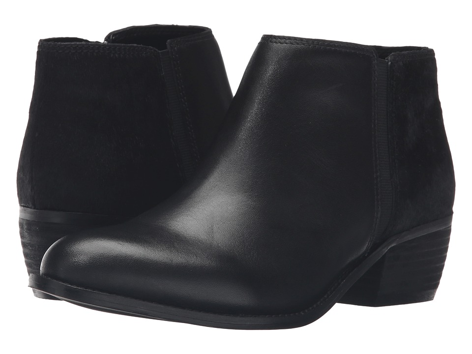 Dune London - Penelope (Black Leather/Pony) Women's Boots