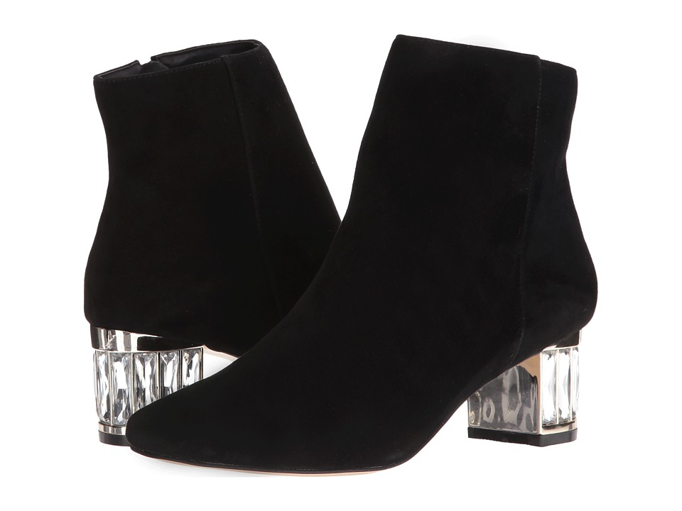 Dune London - Orion (Black Suede) Women's Shoes