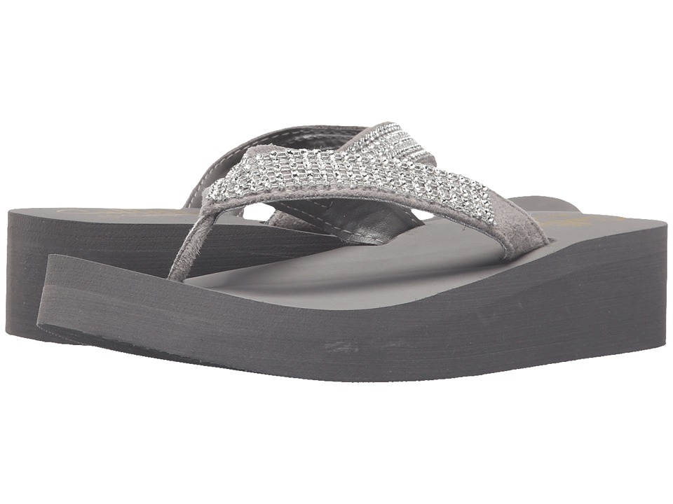 Callisto of California - Cannes (Grey) Women's Shoes
