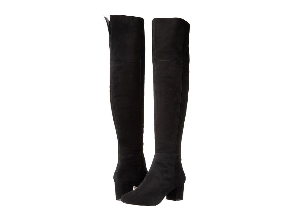 Dune London - Sanford (Black Suede) Women's Shoes