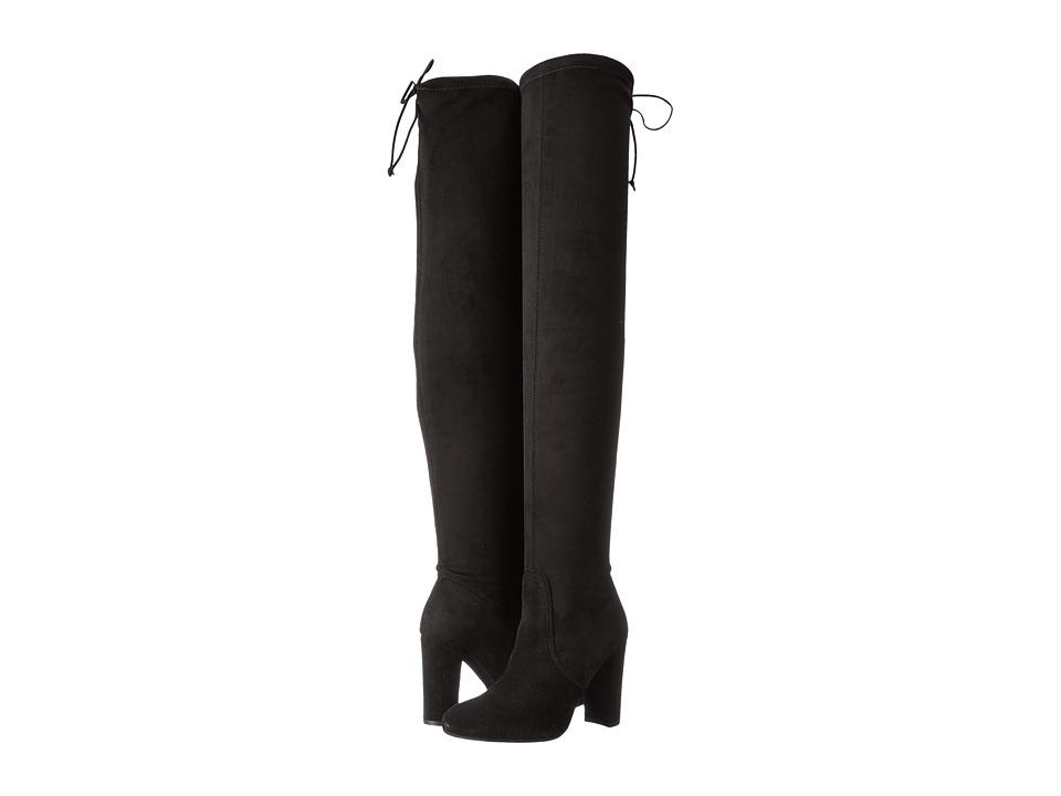 Dune London - Sibyl (Black Suede) Women's Shoes