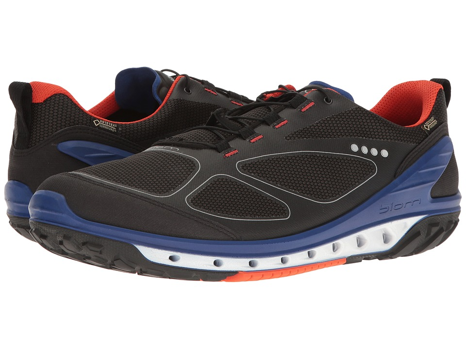 ECCO Sport - Biom Venture GTX (Black/Titanium/Fire) Men's Tennis Shoes