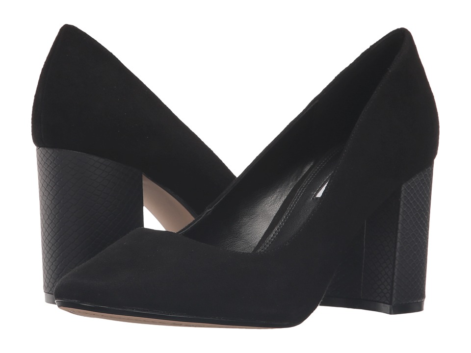 Dune London - Abelle (Black Suede) Women's Shoes