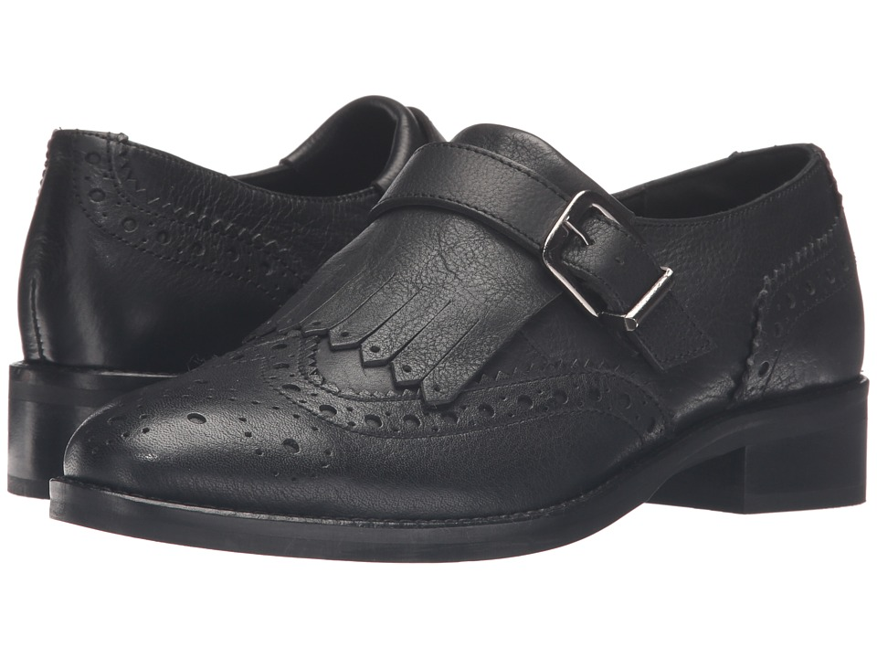 Dune London - Gospel (Black Leather) Women's Shoes