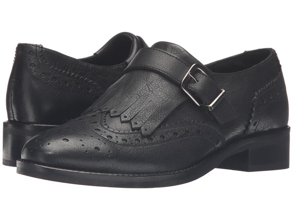 Dune London - Gospel (Black Leather) Women's Shoes