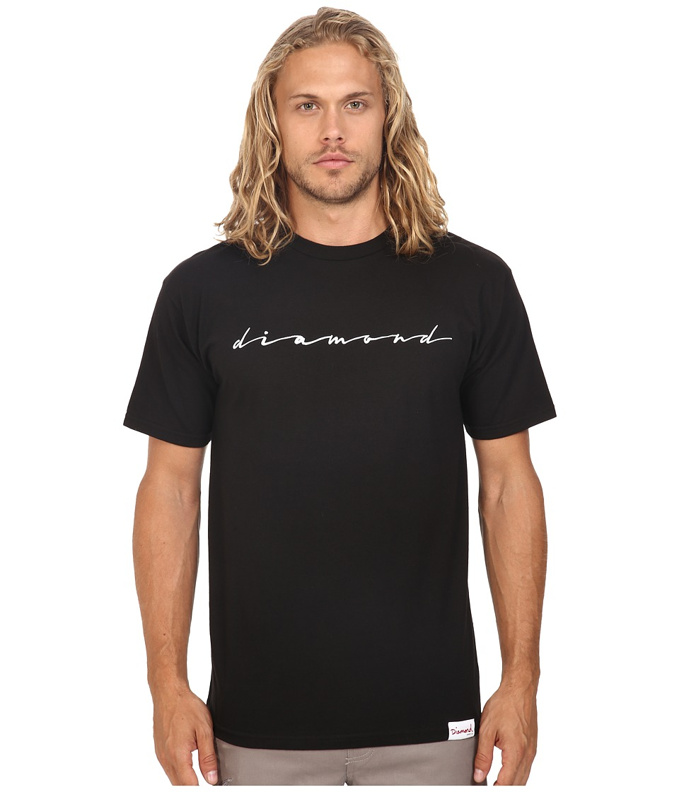 Diamond Supply Co. - Shine Script Tee (Black) Men's T Shirt