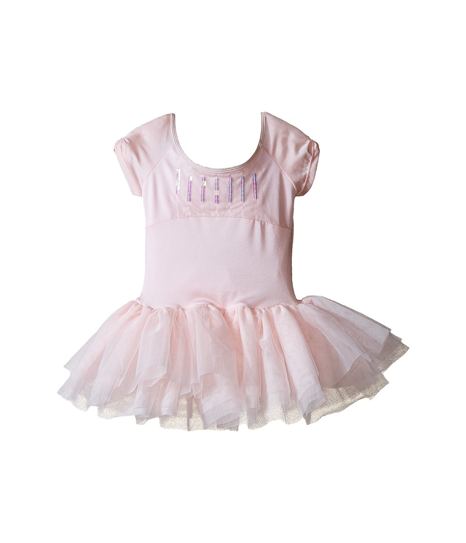 Bloch Kids - Sequin Trimmed Tutu Dress (Toddler/Little Kids/Big Kids) (Candy Pink) Girl's Dress