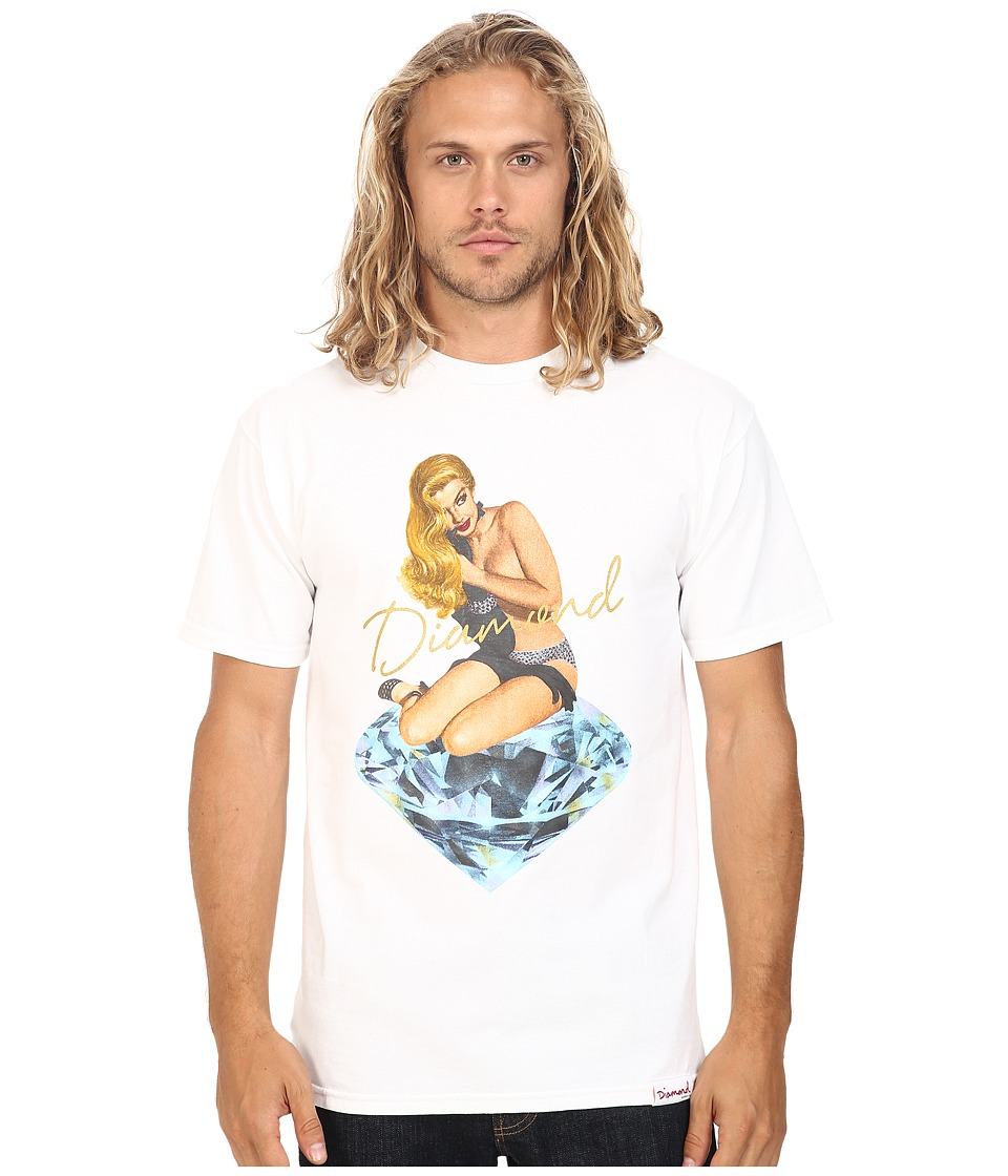 Diamond Supply Co. - Glare Tee (White) Men's T Shirt