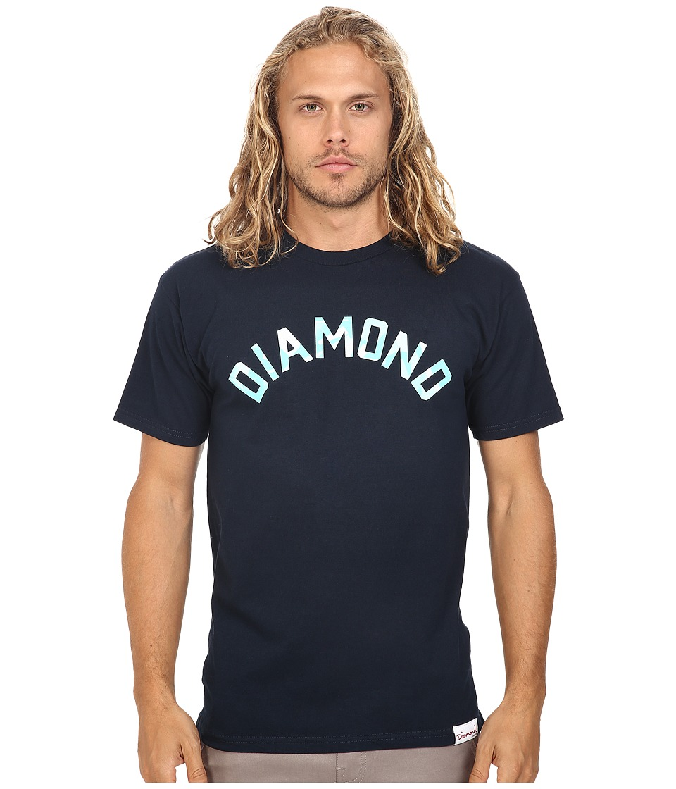 Diamond Supply Co. - Simplicity Arch Tee (Navy) Men's T Shirt