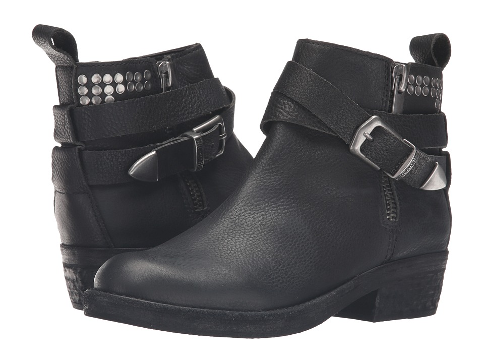 Dolce Vita - Joey (Black Leather) Women's Zip Boots
