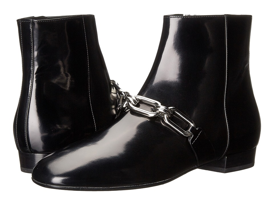 Michael Kors Lennox Ankle Boot (Black Spazzolato) Women