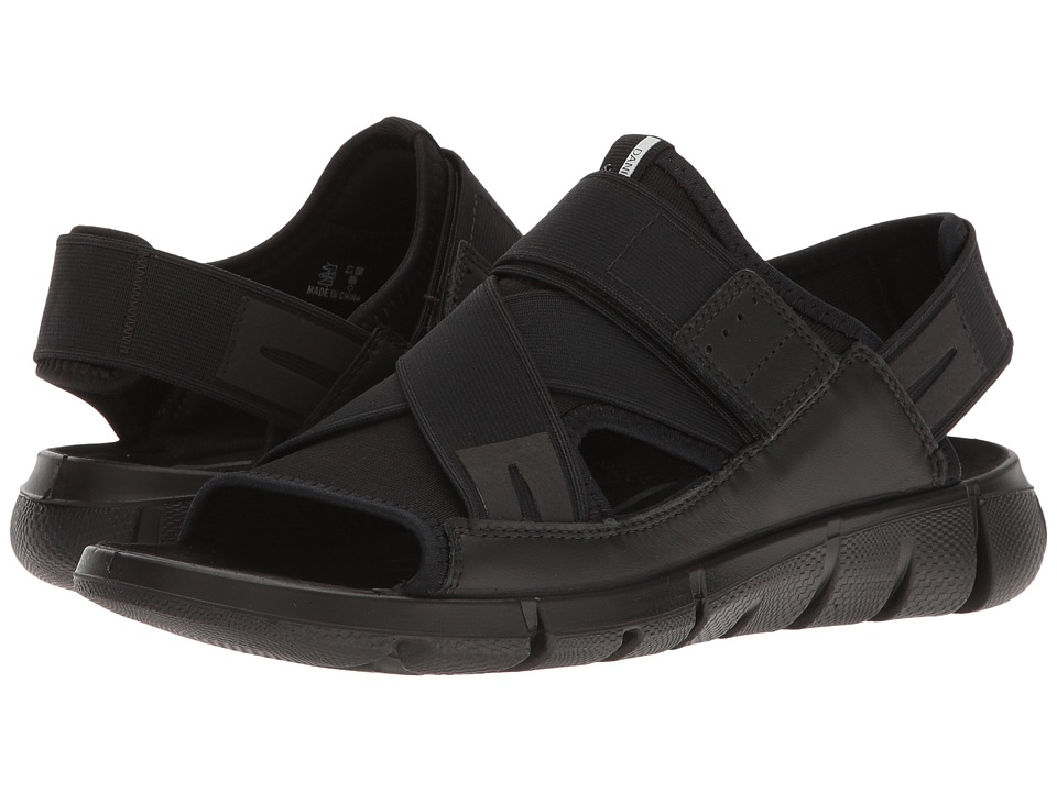 ECCO Sport - Intrinsic Sandal (Black/Black) Women's Sandals