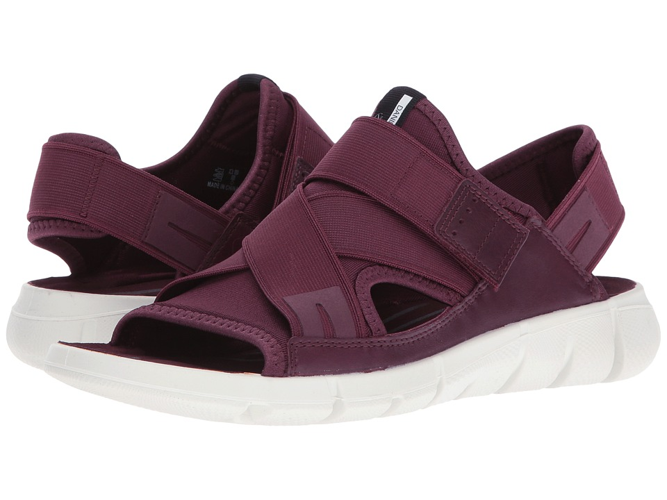 ECCO Sport - Intrinsic Sandal (Bordeaux/Bordeaux) Women's Sandals