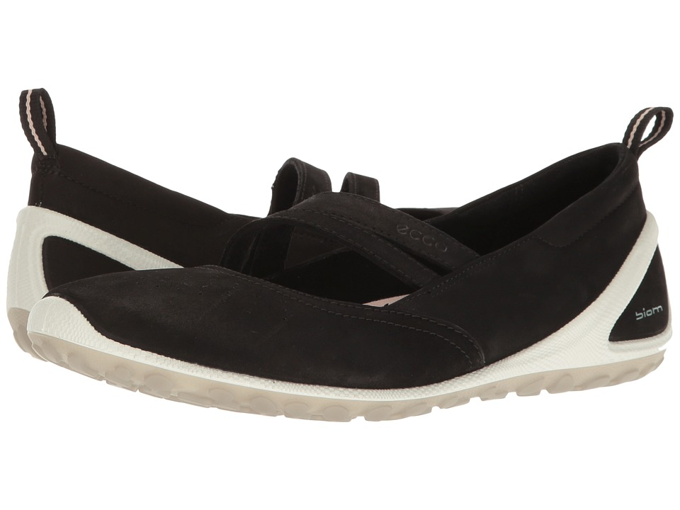 ECCO Sport - Biom Lite MJ (Black) Women's Hook and Loop Shoes