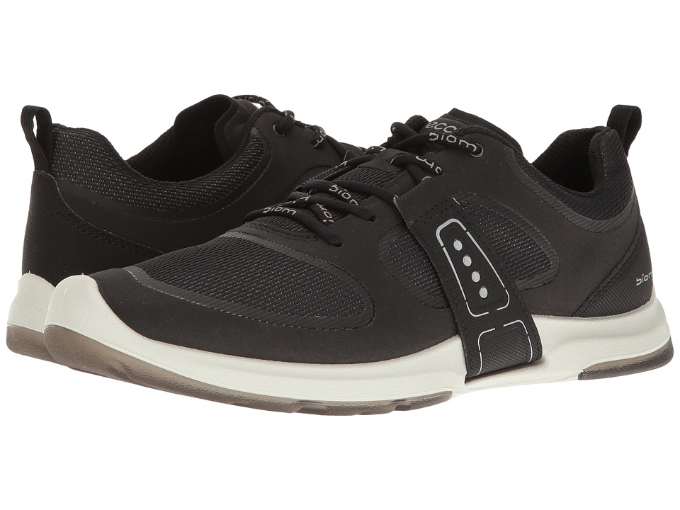 ECCO Sport Biom Amrap Tie (Black/Black) Women's Hook and Loop Shoes