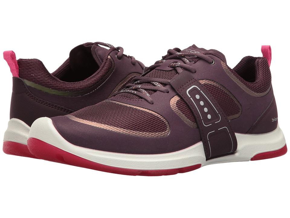 ECCO Sport - Biom Amrap Tie (Mauve/Mauve/Beetroot) Women's Hook and Loop Shoes