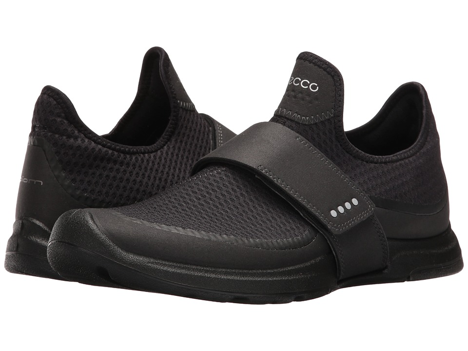 ECCO Sport - Biom Amrap Band (Black/Black) Women's Hook and Loop Shoes