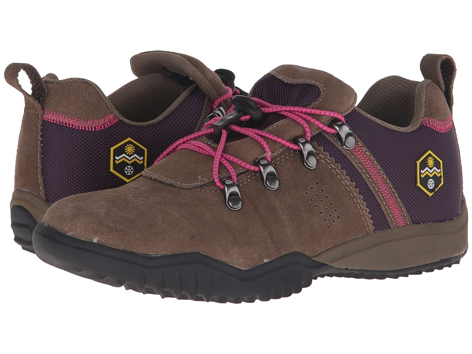 Khombu - Maura (Taupe/Purple) Women's Shoes