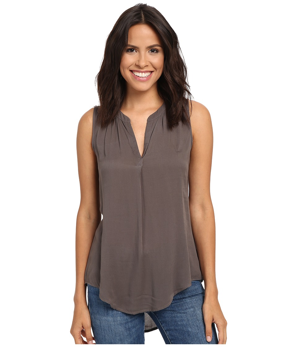Dylan by True Grit - Solid Sleeveless Tunic (Elm) Women's Sleeveless