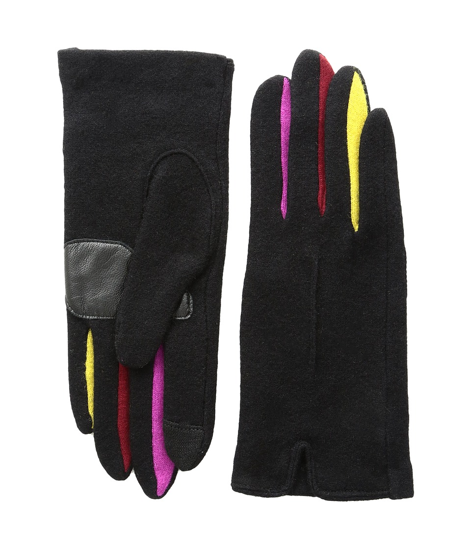 Echo Design - Echo Touch Color Block Frchette Gloves (Black) Extreme Cold Weather Gloves