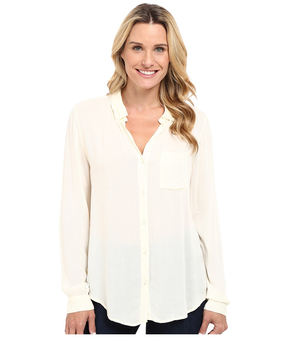 Dylan by True Grit - Soft Classic Blouse (Chalk) Women's Blouse