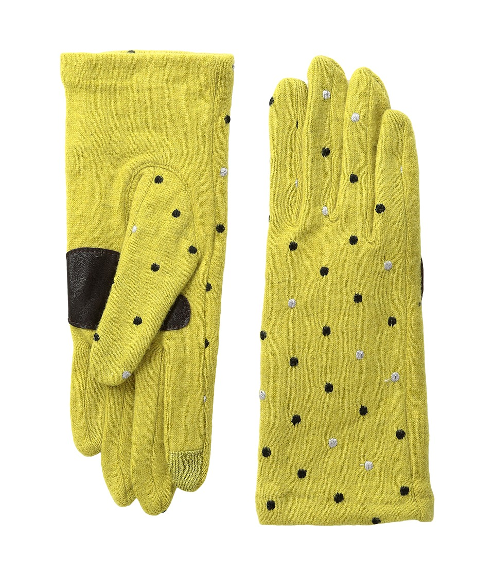 Echo Design - Echo Touch Pop Dot Gloves (Pear) Extreme Cold Weather Gloves