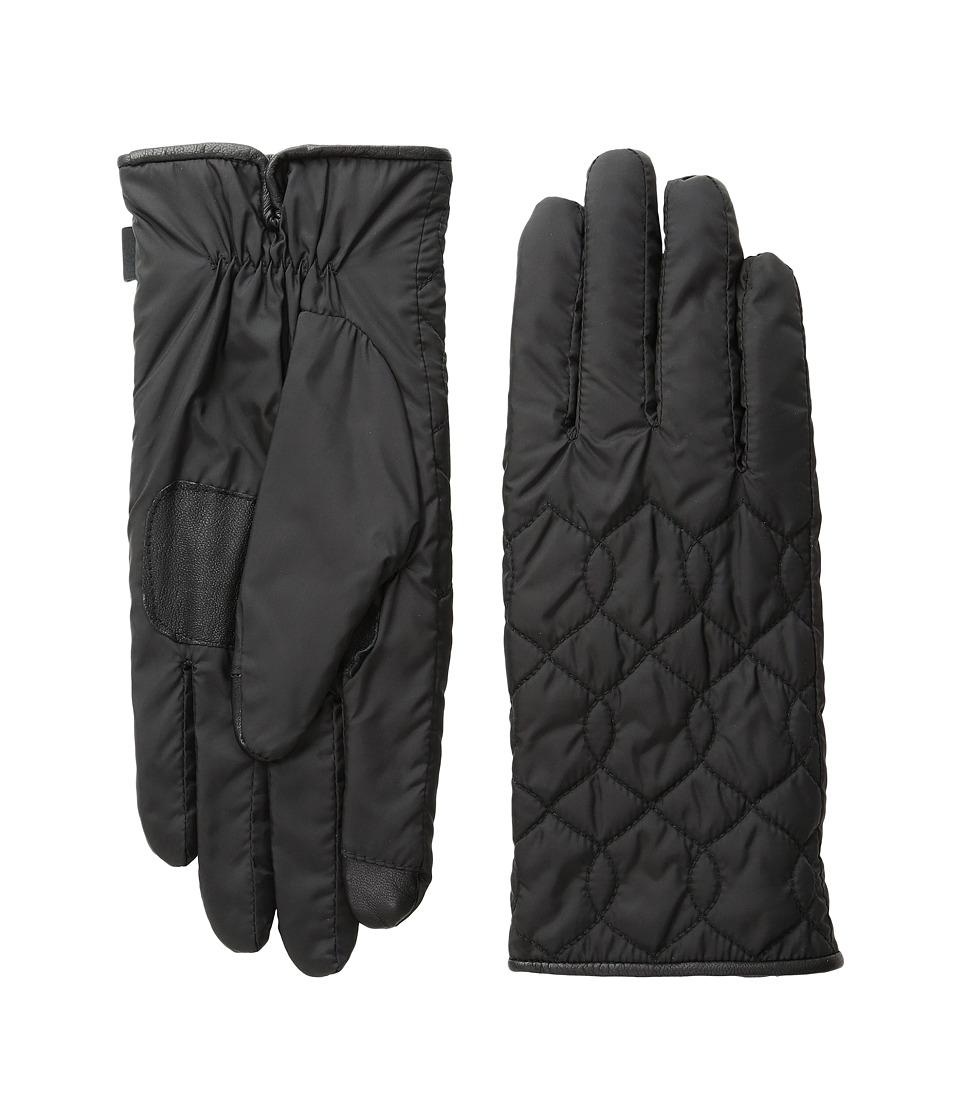 Echo Design - Echo Touch Deco Quilt Gloves (Black) Extreme Cold Weather Gloves
