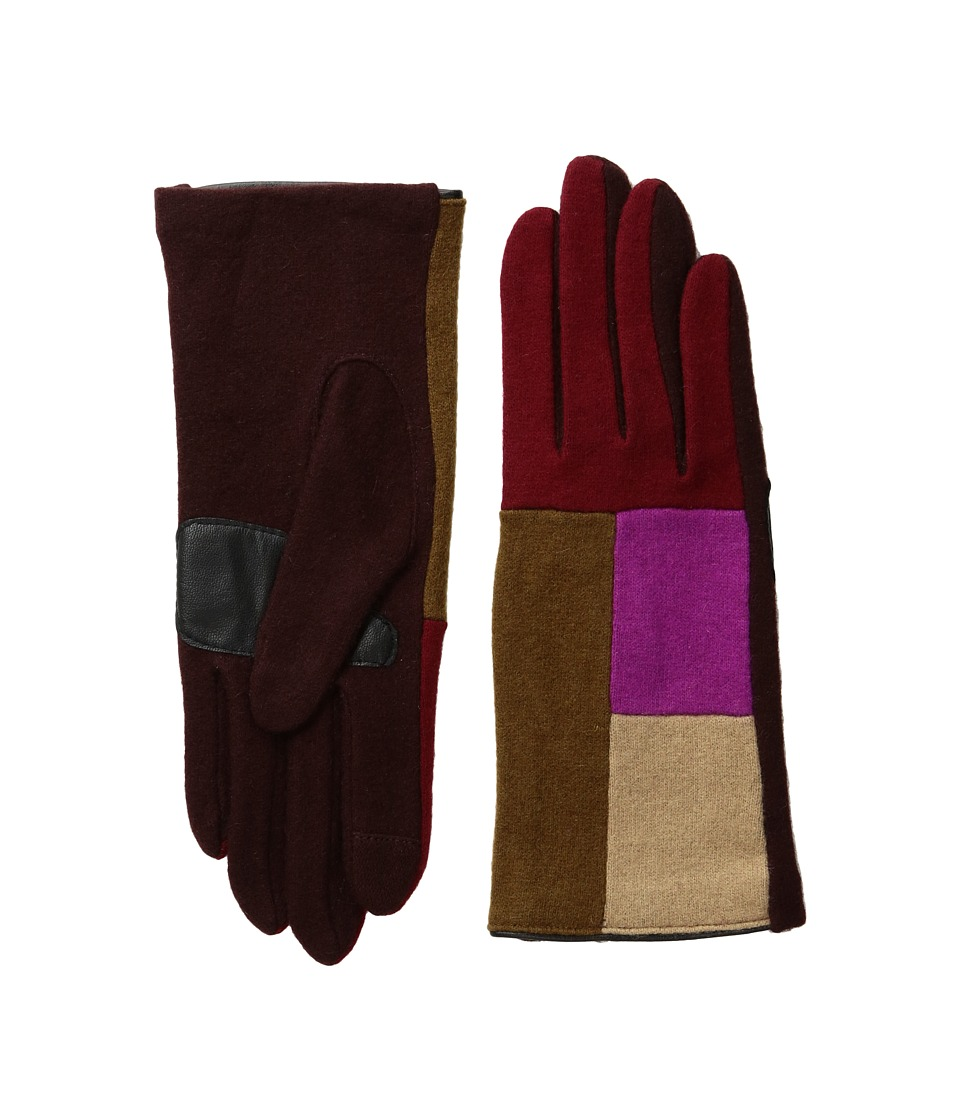 Echo Design - Echo Touch Color Block Gloves (Pomegranate) Extreme Cold Weather Gloves