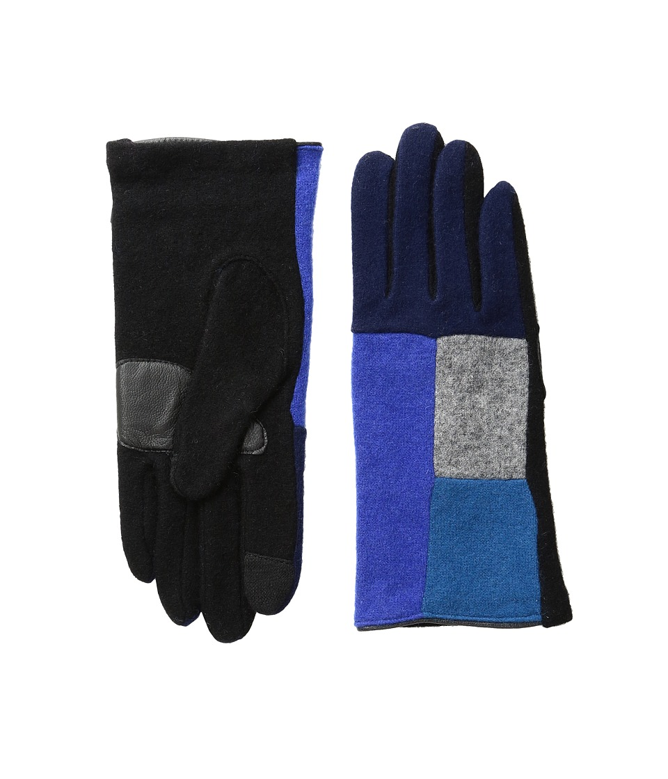 Echo Design - Echo Touch Color Block Gloves (Primary Blue) Extreme Cold Weather Gloves