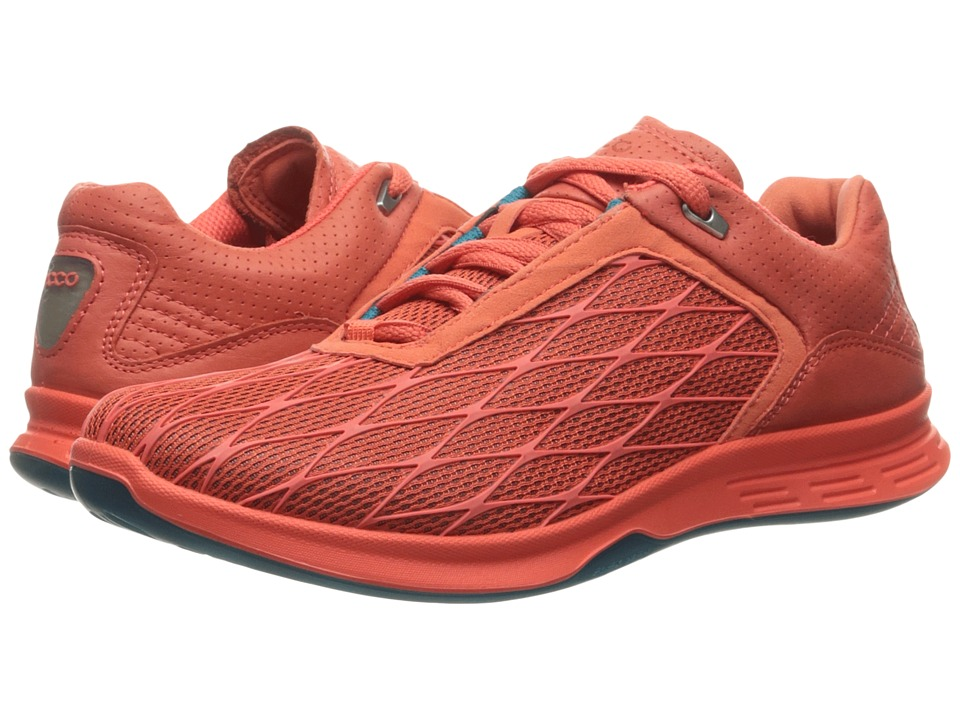 ECCO Sport - Exceed Sport (Coral Blush/Coral Blush/Capri Breeze) Women's Running Shoes